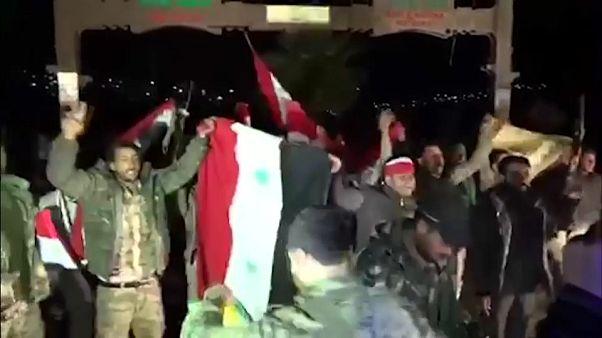 Сирийские народные силы вошли в Африн