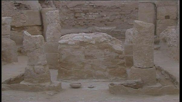 شاهد: العثور على كنيسة بيزنطية جنوب تونس