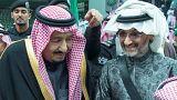 """""""الجنادرية"""" يشهد أول لقاء علني للملك سلمان والأمير الوليد بعد إطلاق سراحه"""