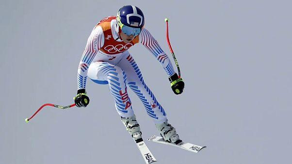 Kış Oyunları: Alp Disiplini İniş yarışını İtalyan Goggia kazandı