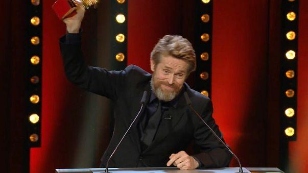 Berlinale'de yaşam boyu başarı ödülü Willem Dafoe'ya verildi