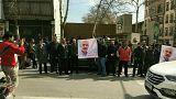 آغاز اعتراضات به بازداشت نعمتالله ریاحی، عصر روز دوشنبه