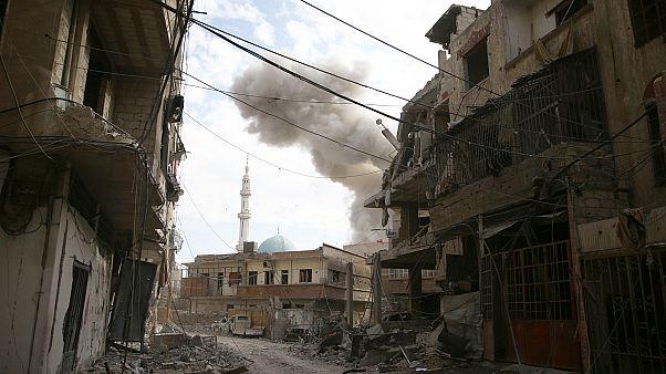 Ghouta's ghastly fate as bombs fall like rain