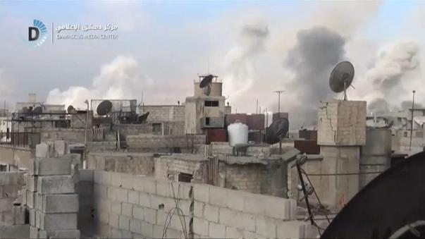 Bomne siriane su Ghouta est