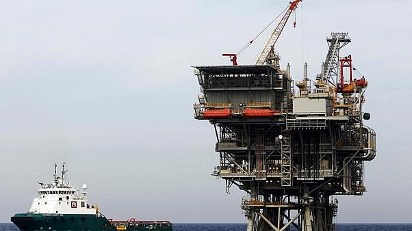 منصة إنتاج غاز إسرائيلية في البحر المتوسط