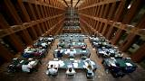 The library of Humboldt-University in Berlin, Germany.