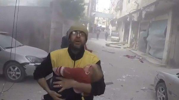 El Ejército sirio recrudece sus bombardeos contra Guta Oriental
