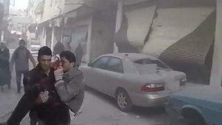 Syrien: Weiter Angriffe auf Ost-Ghuta
