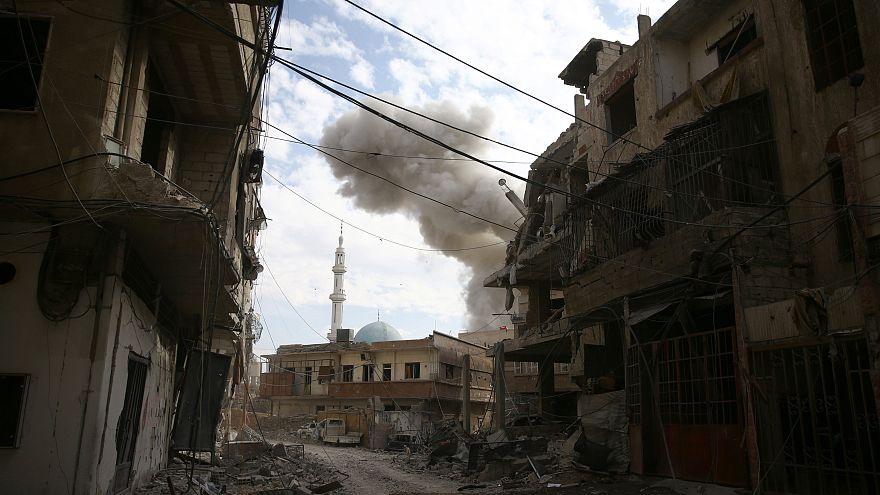 Damas entame son quatrième jour d'offensive contre la Ghouta orientale