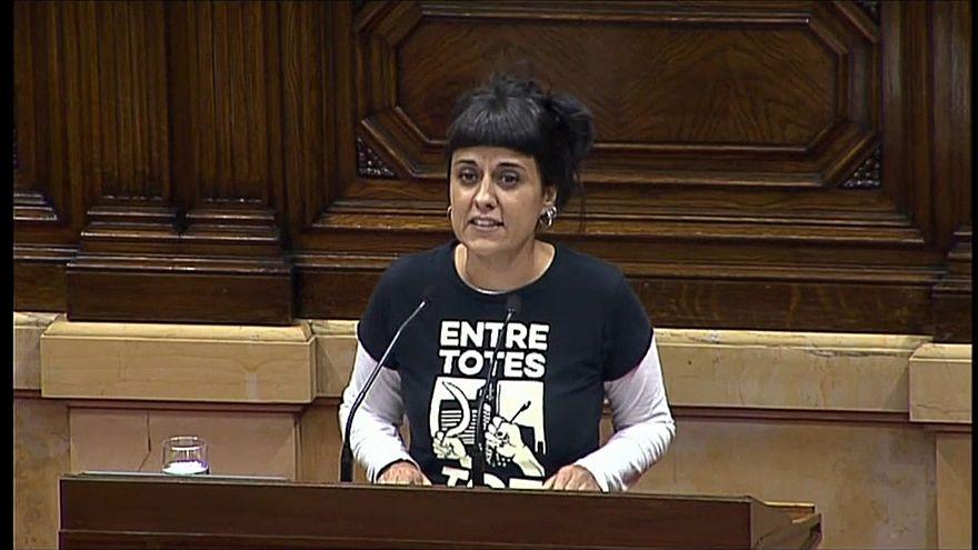 Anna Gabriel com mandado de detenção em Espanha