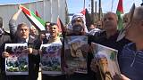 الجيش الإسرائيلي يفض مسيرة سلمية قرب رام الله بالرصاص وقنابل الغاز