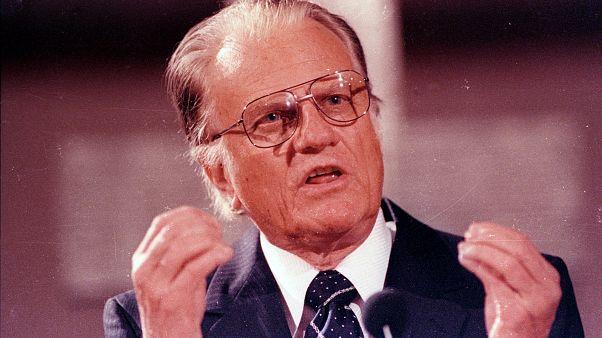 Billy Graham in der Gethsemanekirche, Ostberlin