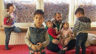 اللاجئ السوري أحمد أ. وأولاده