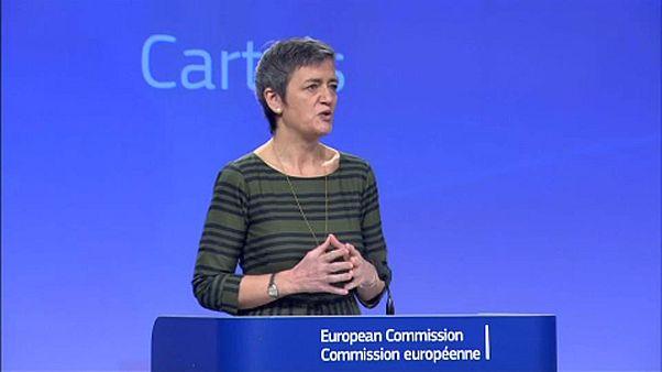Milliárdos büntetést szabott ki az EU a kartelezőkre