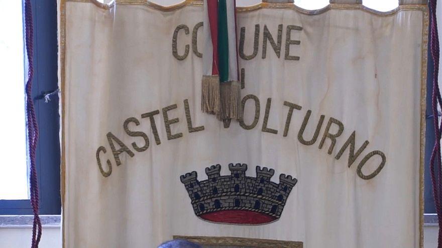 رمز مدينة قصر فولتورنو جنوب إيطاليا