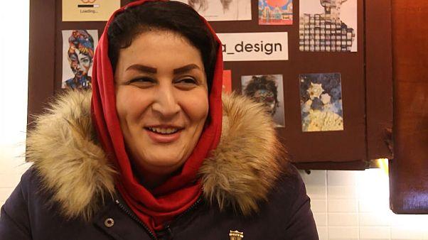 Questa donna iraniana si è travestita da uomo per andare allo stadio