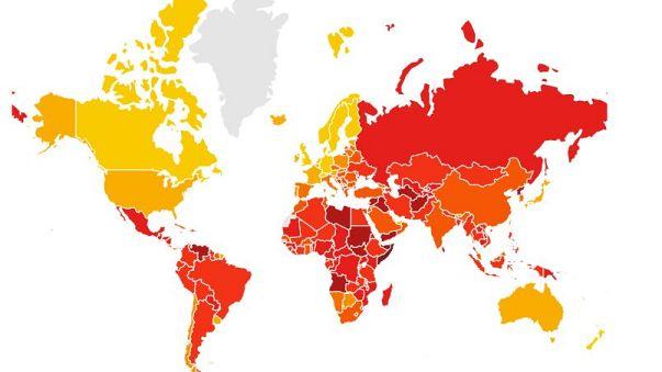 Corruzione percepita: Italia tra i peggiori paesi in Europa