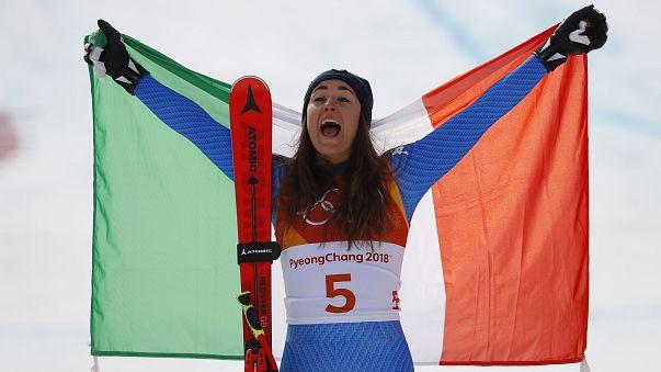 JO 2018 : Goggia remporte la descente féminine