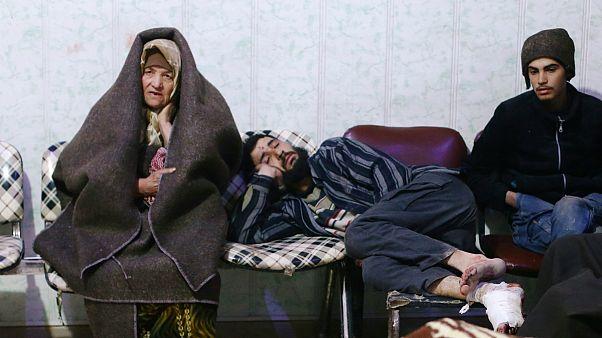 مجروحان حملات به غوطه شرقی