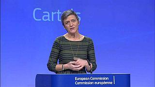 Bruselas impone multas de 546 millones de euros