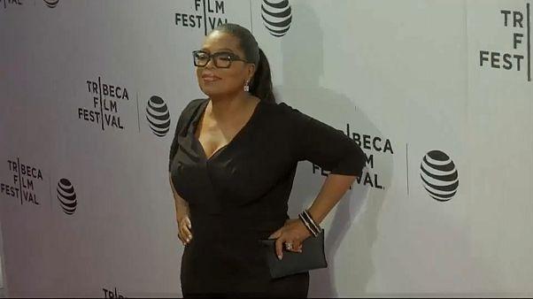 Oprah e Spielberg juntam-se à marcha contra a posse de armas