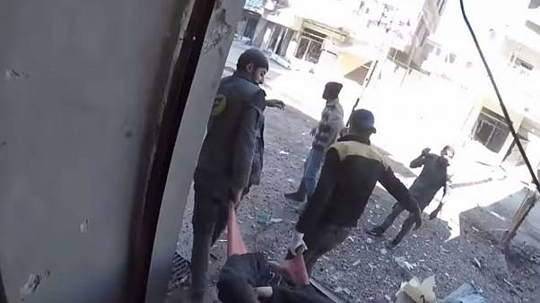 The situation in East Ghouta 'can't be described with words,' says activist