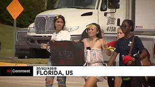 Manifestações contra o uso de armas na Flórida continuam