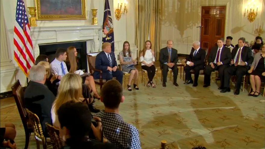 Trump: 'Arm teachers to keep schools safe'
