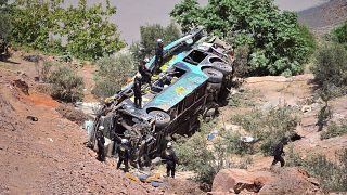 Περού: Νέα τραγωδία με λεωφορείο – Δεκάδες νεκροί