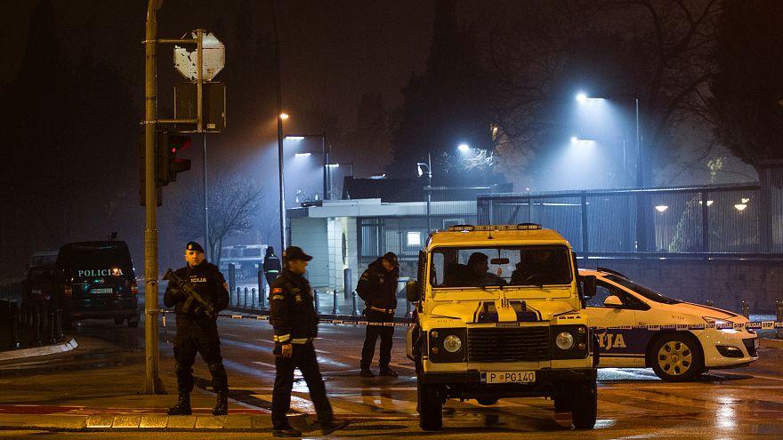 إنتحاري يفجر نفسه أمام مبنى السفارة الأمريكية في جمهورية الجبل الأسود