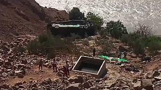 Accidente de autobús en Perú con 44 muertos
