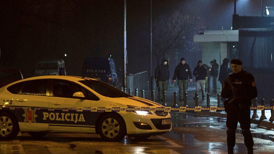 Karadağ'da ABD Büyülelçiliği'ne saldırı