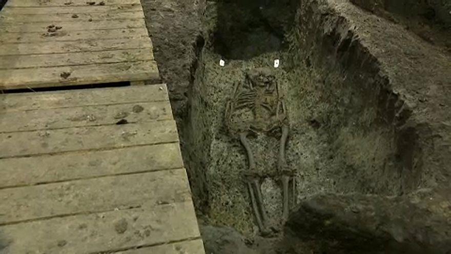 Csontvázak a városháza alatt