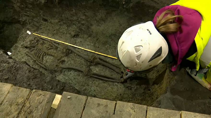 Arqueólogos descobrem os 'primeiros habitantes' de Copenhaga