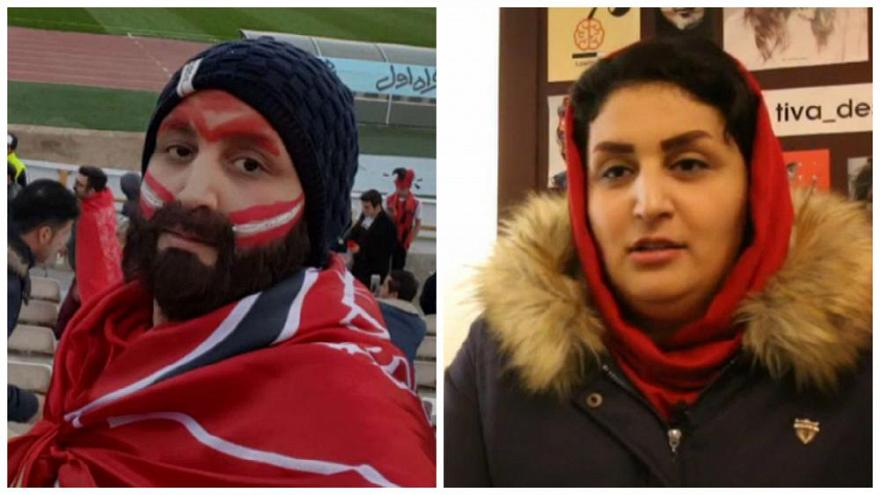 Erkek kılığında stadyumlara giren İranlı Zehra ile tanışın