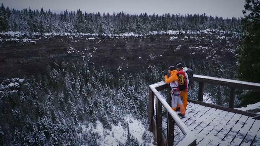Escalade sur glace au Canada