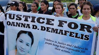 Couple sentenced to death for murder of Filipina maid