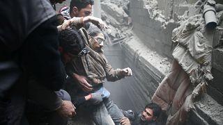 Kórházakat bombáztak le Damaszkusztól keletre