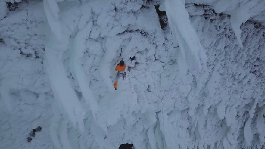 تسلق جبال الجليد:  داني أرنولد يفتتح مسلكا جديدا