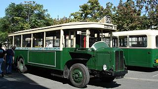 اتوبوسهای قدیمی پاریس : تاریخچه و آلبوم عکس