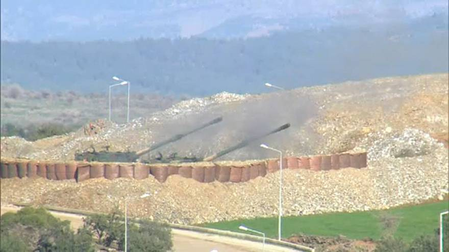 Heves harcok Afrin környékén
