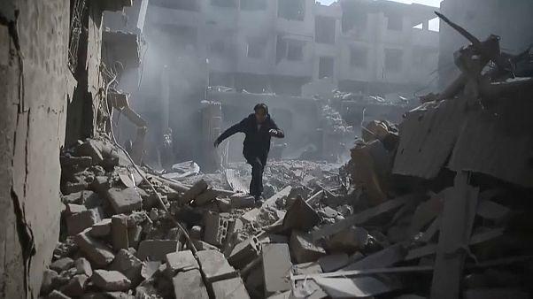 Doğu Guta: Sivil kayıpları artıyor, ölü sayısı 300'ün üzerinde