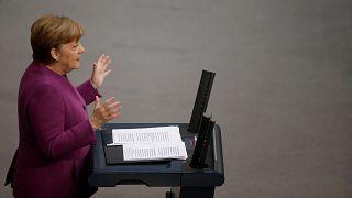 """Merkel verurteilt """"Massaker"""" in Ost-Ghouta"""