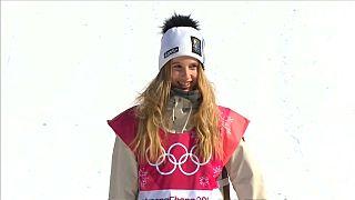 Gasser campeã de snowboard em PyeongChang