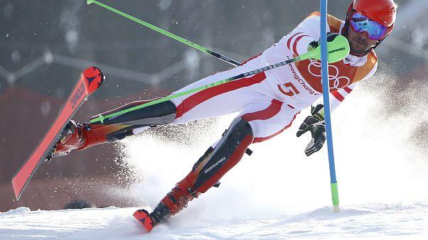 Pyeongchang 2018: Hirscher fuori nello slalom, l'oro a Myhrer