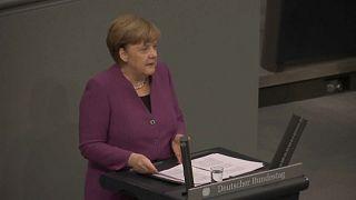 Merkel cselekvést sürget a szíriai béke érdekében