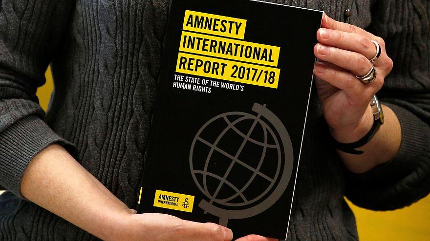 Amnesty International fustige les dirigeants dans son dernier rapport annuel
