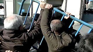 Jubilados protestan por la depreciación de sus pensiones