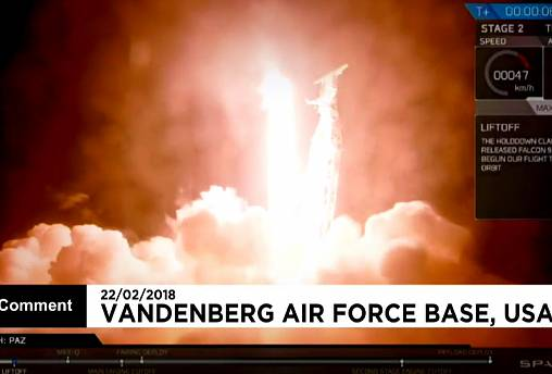 SpaceX ist erfolgreich gestartet