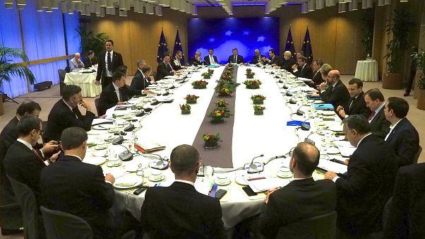 Tour de table des chefs d'Etat et de gouvernement de l'UE
